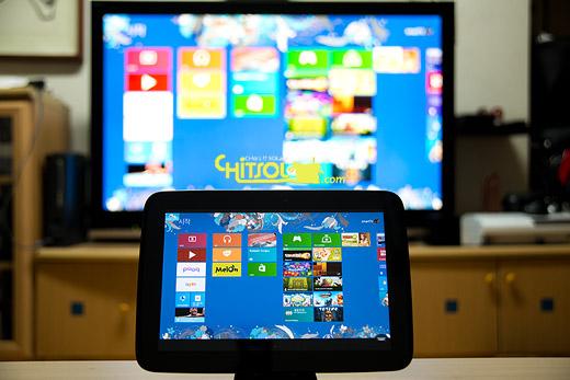 nexus 10, NUC, remote control, smart tv, 넥서스10, 리모컨, 리모트 테스크탑, 스마트TV, 원격 데스크탑, 인텔 NUC, 태블릿, 태블릿을 스마트TV 리모컨으로 쓰기
