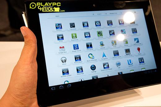 소니, 태블릿P, 태블릿S, 스마트패드, 태블릿, 뮤직 언리미티드, 비디오 언리미티드, Tablet S, Sony, IFA, IFA 2011