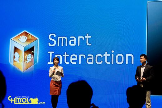 2012년 삼성 스마트TV 특징, 스마트 인터랙션 작동법