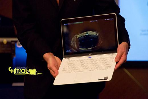 윈도우 8 울트라북, 터치스크린 노트북