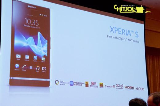 엑스페리아S 특징, CES 2012 스마트폰, 엑스페리아S 기능
