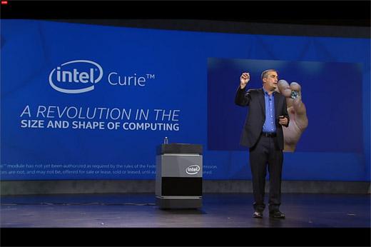 인텔 CES 2015 기조 연설, CES 2015 intel keynote, 큐리, Curie