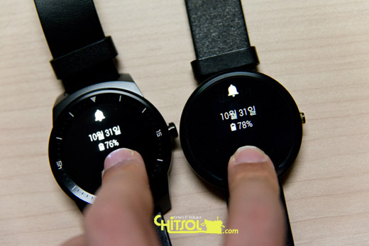 Circle display, G watch, moto 360