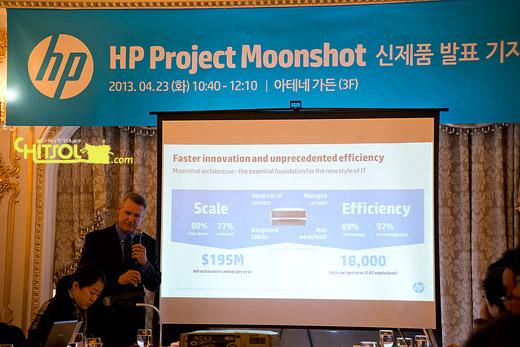 HP 문샷, HP문샷 발표, HP 문샷 특징, 소프트웨어 정의 서버, HP 문샷 절감 효과, 아톰 1250