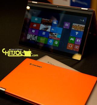 레노버 윈도8 노트북 발표