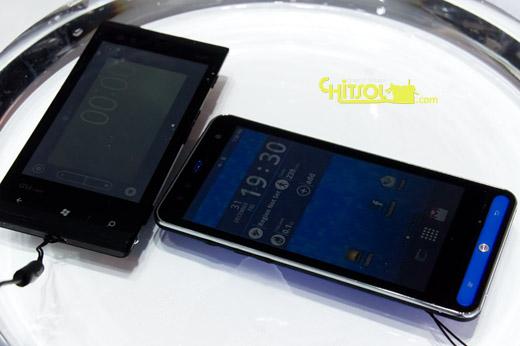 수중 태블릿, 수중 스마트폰