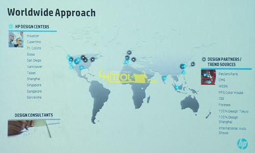 HP 중국 시장 전략