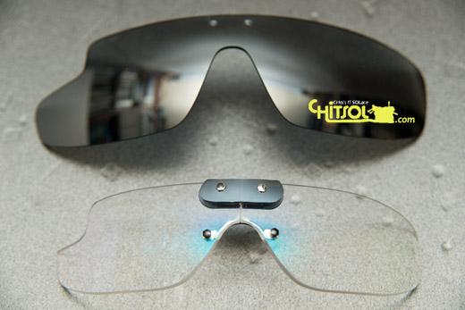 구글 글래스용 도구 안경, 구글 글래스용 렌즈, 구글 글래스용 곡면 안경