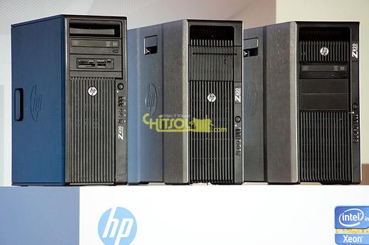 HP 워크스테이션 발표