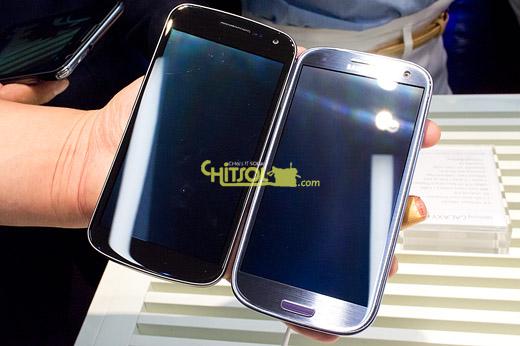 갤럭시S3와 갤럭시 넥서스 비교