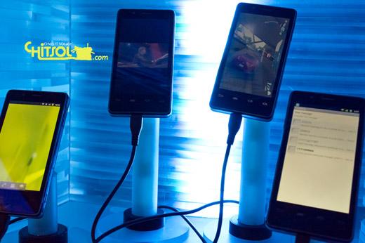 인텔 스마트폰, 인텔 스마트폰 성능