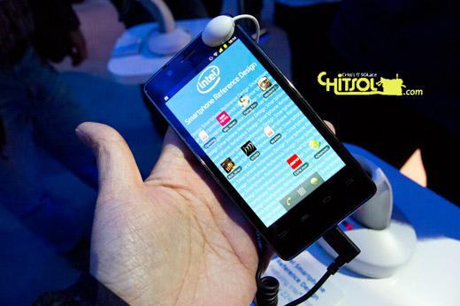 CES2012 인텔 스마트폰, 인텔 스마트폰 특징, 메드필드 스마트폰의 특징