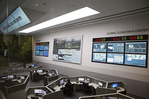 LG CNS, LG CNS 부산 클라우드 데이터센터. 부산 데이터 센터, 클라우드 데이터 센터, PUSAN Cloud Data Center