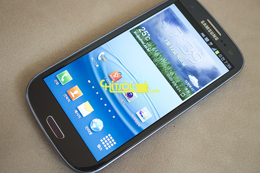 갤럭시S3 LTE 개봉, 갤럭시S3 LTE 페블 블루
